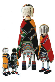Ndebele Dolls from Africa