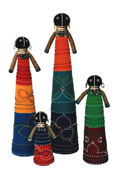 Ndebele Ceremonial Doll - Large