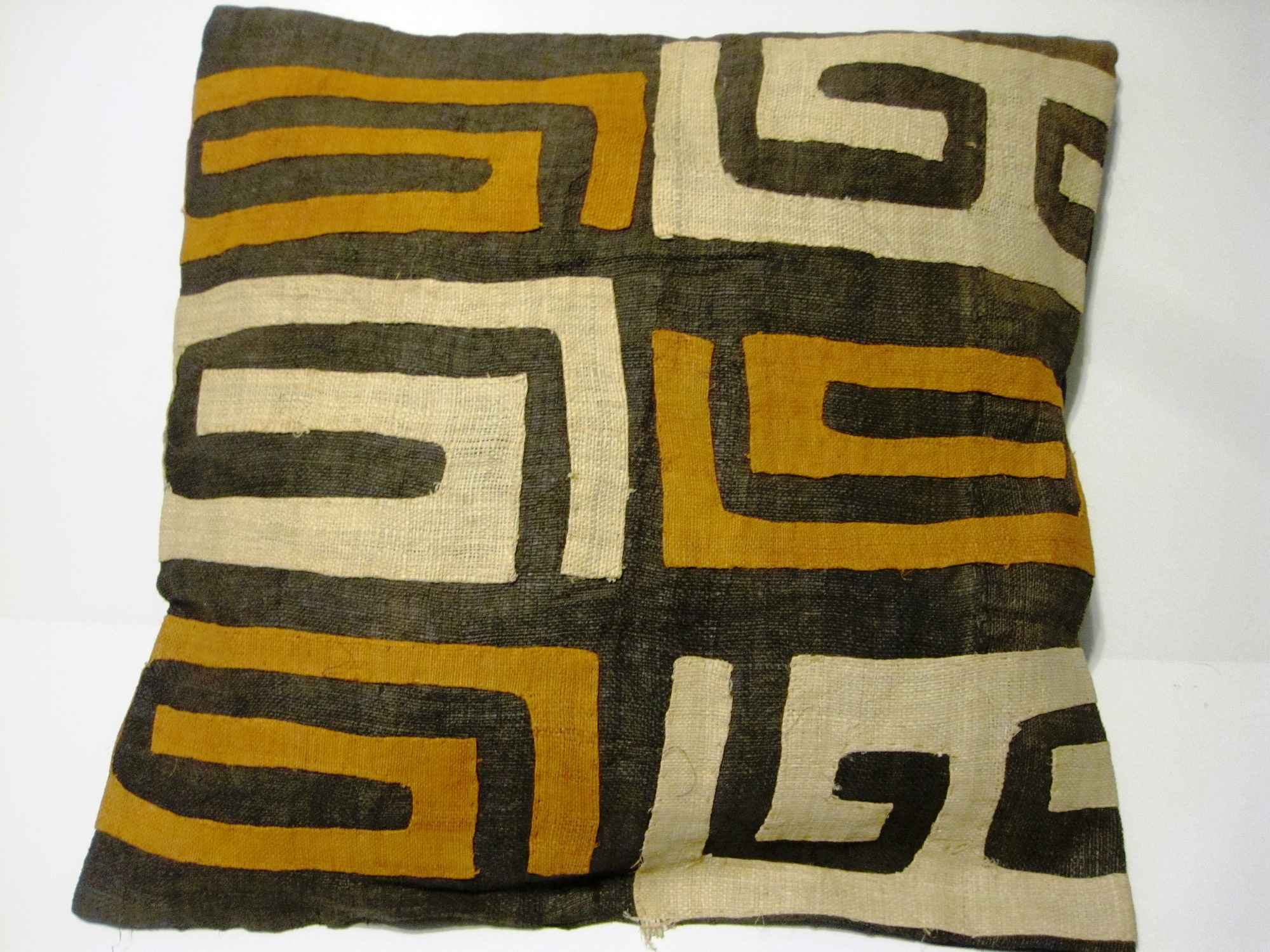 African Kuba Cloth Pillow Cover A2435