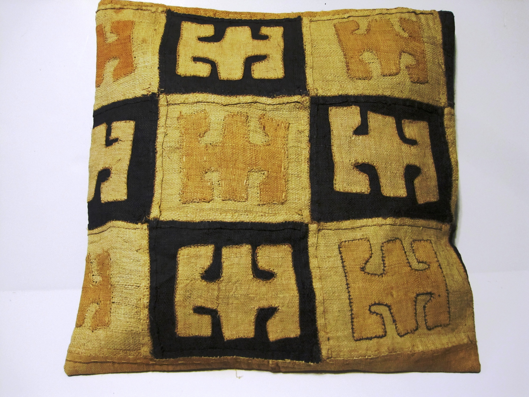 African Kuba Cloth Pillow Cover A2449