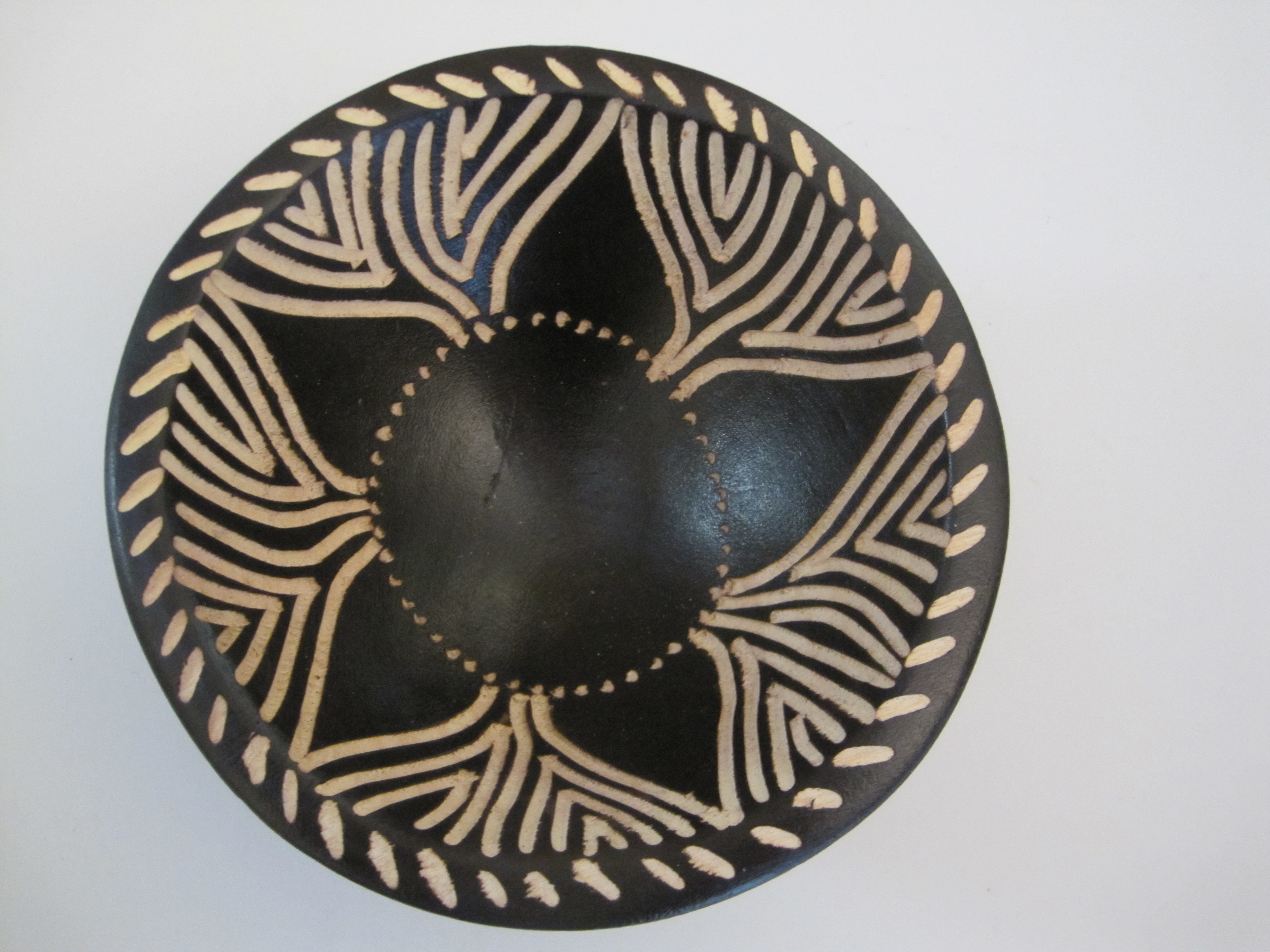 Decorative Jacaranda Wood Bowls