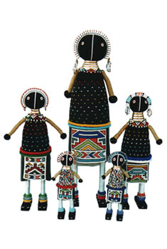 Ndebele Maiden Doll - Medium