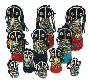 Ndebele Rasta Doll - Large