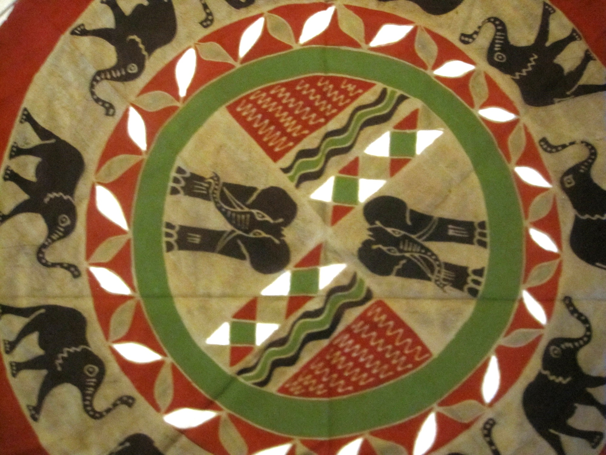 Zimbabwe · Batik Round Tablecloth ...