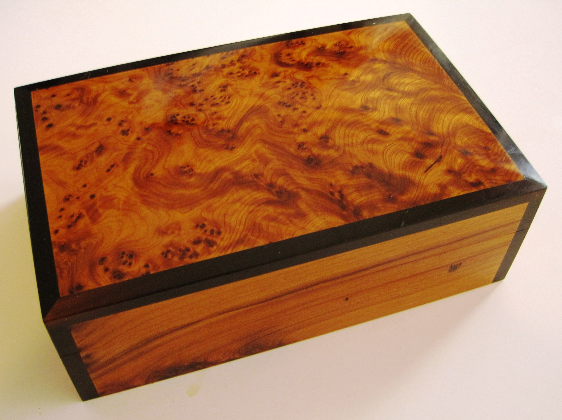 Handcrafted wood jewelry boxes - An Original Gift For Him Or Her This Handcrafted Moroccan Thuya Wood Box Is A Desk Accessory Jewelry Box Change Holder And More