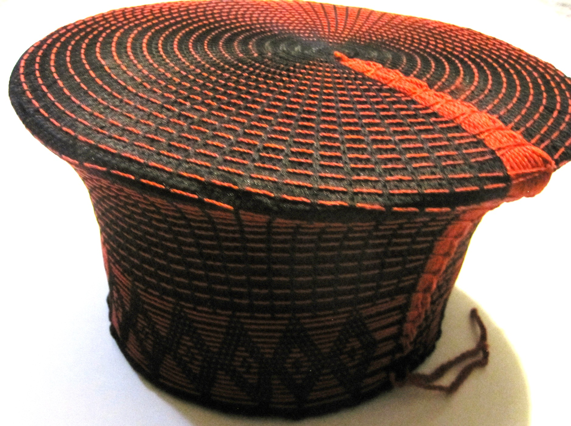 Traditional Zulu Hat - Fire