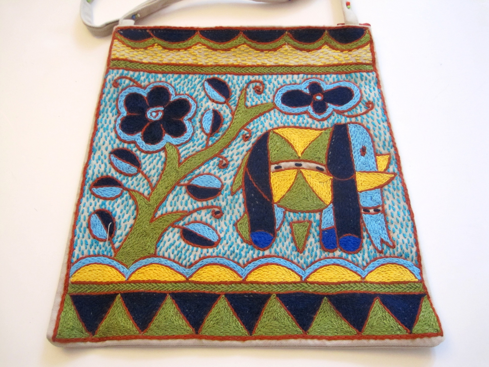 Hand-Embroidered Purses