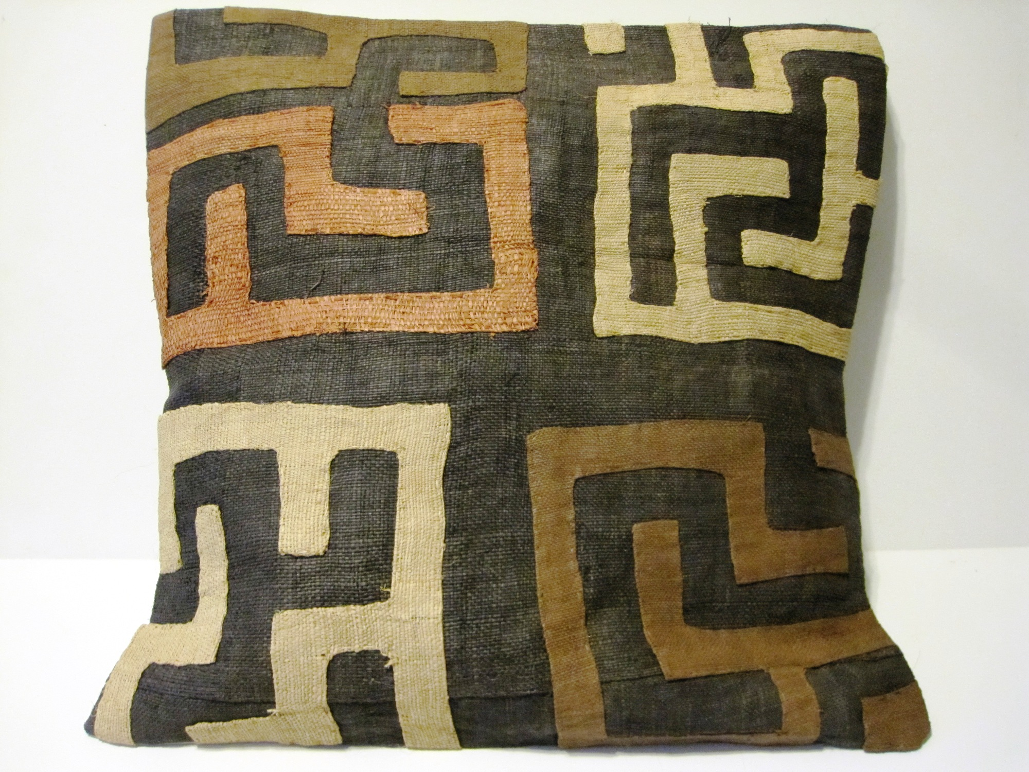 African Kuba Cloth Cushions