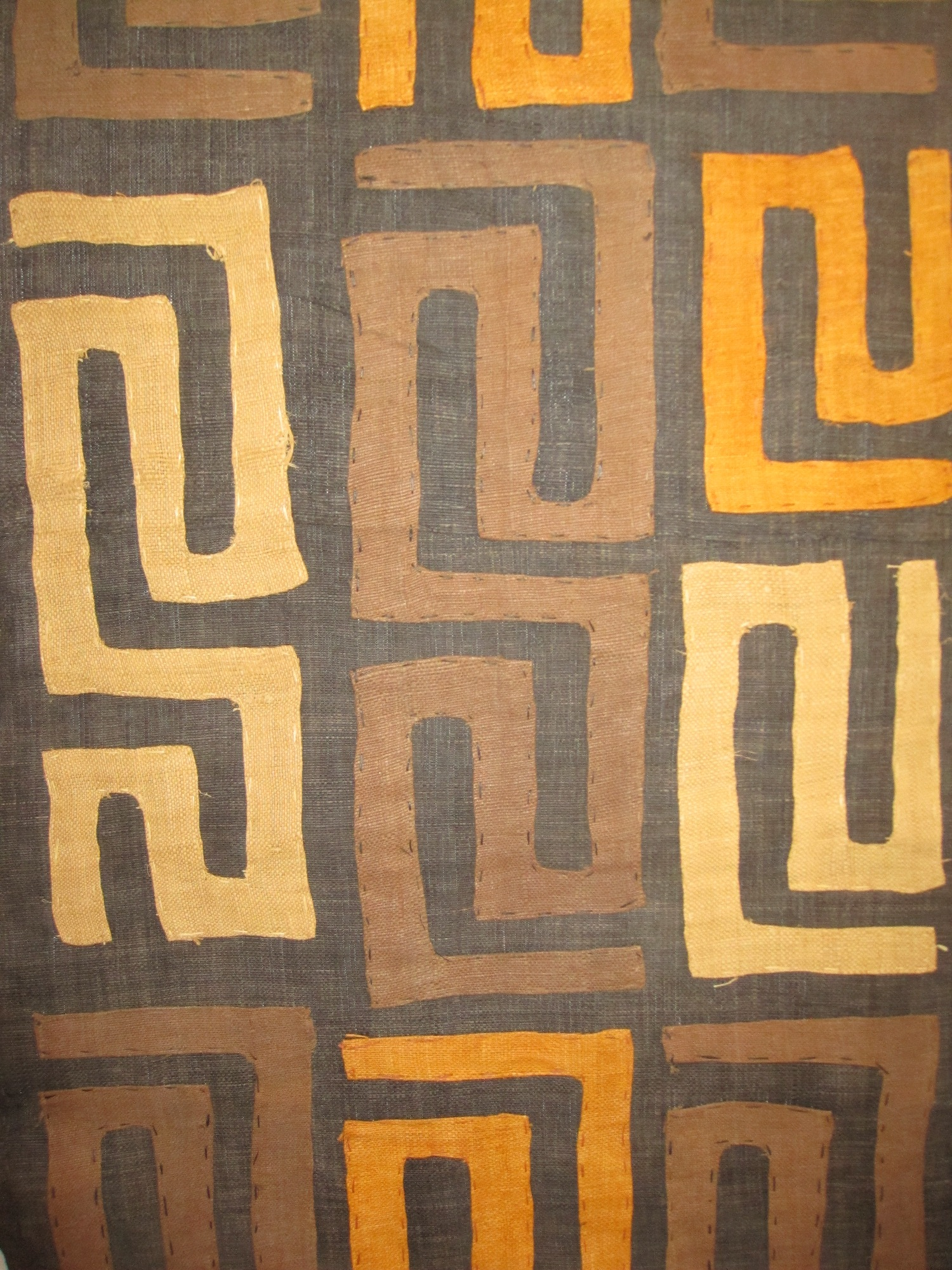 African Kuba Cloth Home