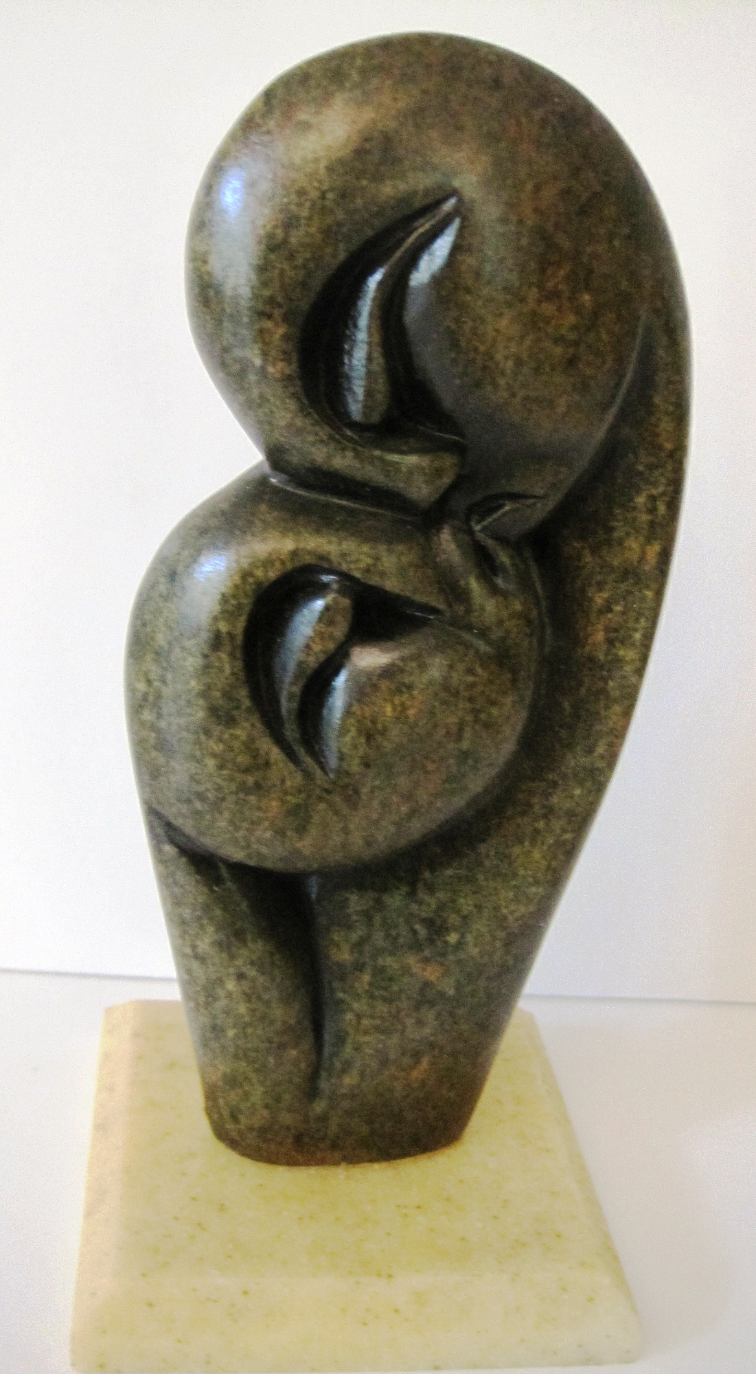 Lovers Shona Stone Carving