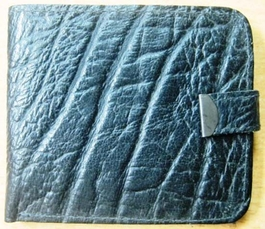 Genuine African Buffalo Wallet - Black