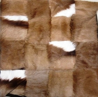 African  100% Genuine Springbok Skin/Hide Cushion Pillow  #004