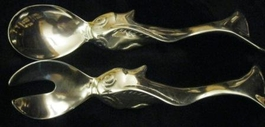 Koi Design Salad Servers