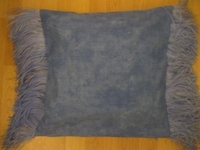 Ostrich Feather Pillow Cover #005