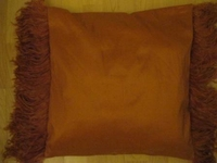 Ostrich Feather Pillow Cover #006