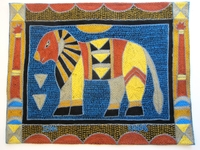 Shangaan Hand-Embroidered Placemat #3298