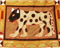 Shangaan Hand-Embroidered Placemat #3312