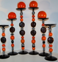 Zulu Love Bean Candlesticks - Design #2