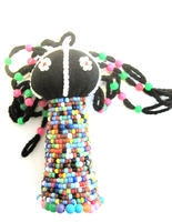 Ndebele Rasta Doll - Small