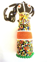Ndebele Rasta Doll - Medium