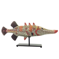 Garfish - Raku Ceramic Art