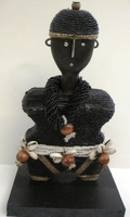 Cameroon Namji Doll 006 - Small - Black