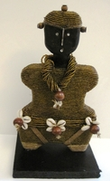 Cameroon Namji Doll 002 - Small - Gold