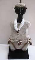 Cameroon Namji Doll 013 - Medium - White