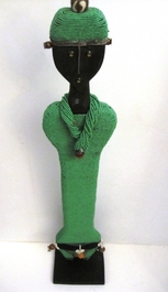 Cameroon Namji Doll 023 - X Large - Green