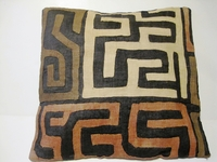 African Kuba Cloth Pillow Cover A2456