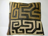 African Kuba Cloth Pillow Cover A2460