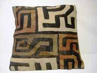 African Kuba Cloth Pillow Cover A2458
