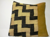 African Kuba Cloth Pillow Cover A2453