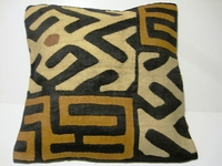 African Kuba Cloth Pillow Cover A2444