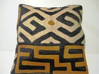 African Kuba Cloth Pillow Cover A2446