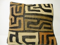 African Kuba Cloth Pillow Cover A2448