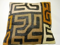African Kuba Cloth Pillow Cover A2461