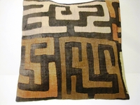 African Kuba Cloth Pillow Cover A2459