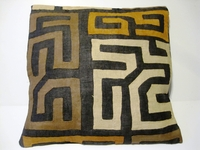 African Kuba Cloth Pillow Cover A2457