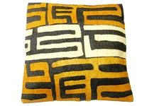 African Kuba Cloth Pillow Cover A2450