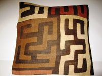 African Kuba Cloth Pillow Cover A2437