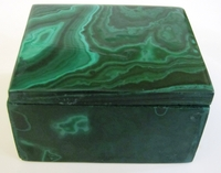Malachite Box #004 - Rectangular Design