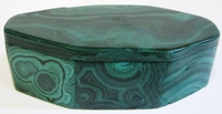 Malachite Box #002 - Octagon Design