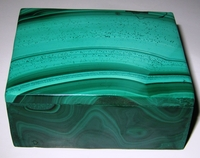 Malachite Box #006 - Rectangular Design