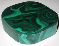 Malachite Box #005 - Quadrilateral Design