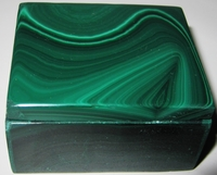 Malachite Box #016 - Rectangular Design