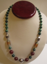 Malachite Necklace #004