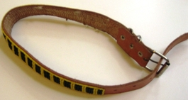 Kenyan Massai Beaded Dog Collar  #001