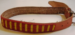 Kenyan Massai Beaded Dog Collar  #009