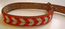 Kenyan Massai Beaded Dog Collar  #004